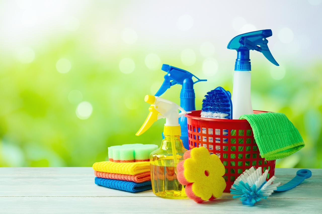 画像: 大掃除を効率的に行うための準備