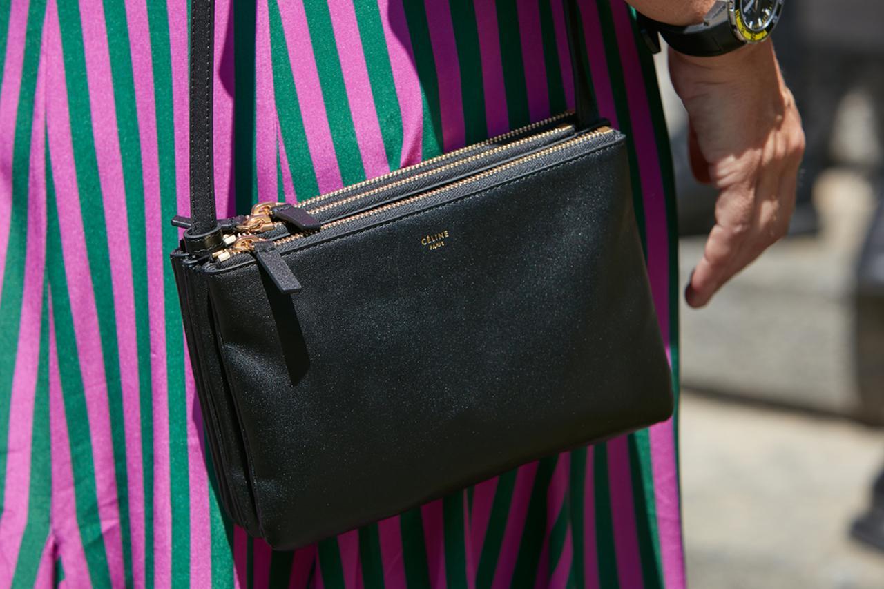 画像: セリーヌのトリオバッグの特徴