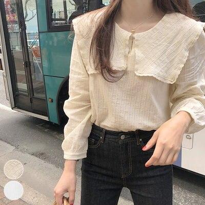 画像: [Qoo10] シャツ トップス 韓国ファッション セー... : レディース服