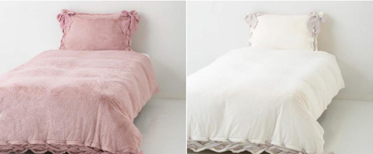 画像2: 【Francfranc】ふんわり、なめらか、やさしい温もり冬のベッドルームコーディネート