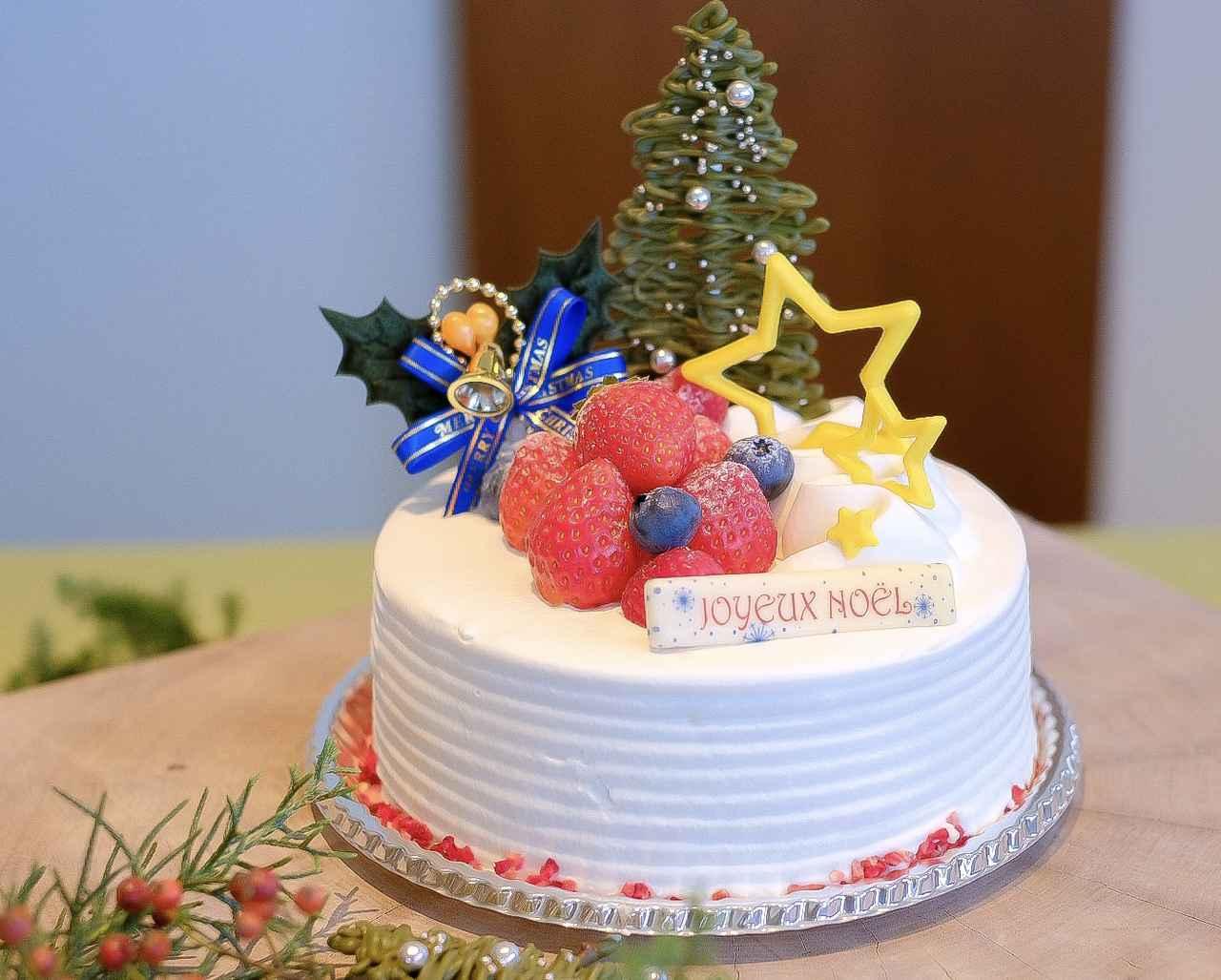 画像: 苺のショートケーキ