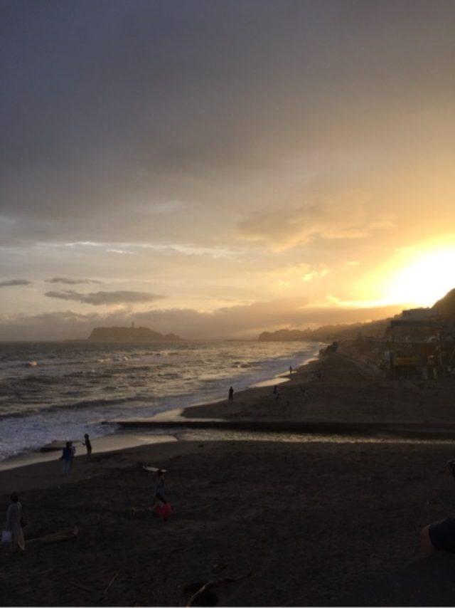 画像: 海辺の夕暮れ♡