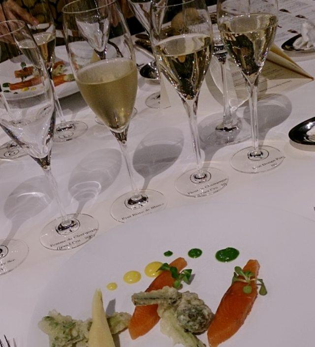 画像: シャンパン勉強会!