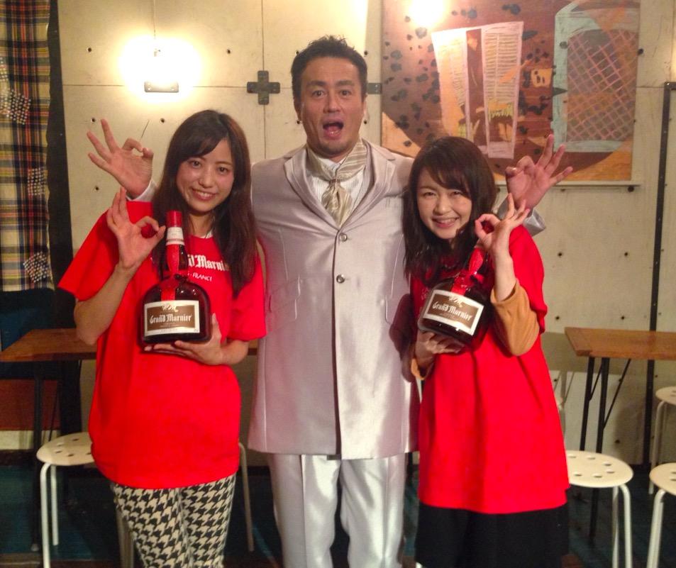 画像: 田口選手とカワコレスイーツ部に鈴丘めみさんと一緒にパチリ