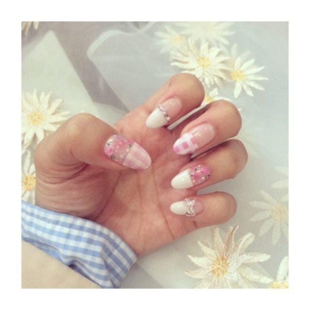 画像: nail change♡春はすぐそこ!?お誕生日だからガーリー♡