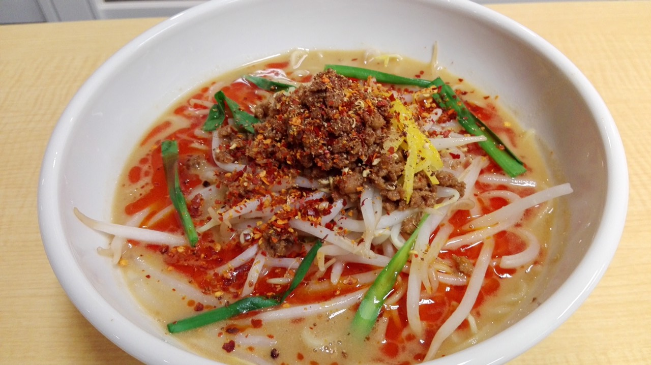 画像: 「四川山椒の肉味噌担々麺」800円
