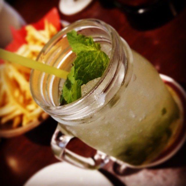 画像: 今日は暑過ぎて、一気に夏気分。  #summer #drink #delicious #mint #gingerale instagram.com