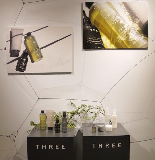画像: 新スキャルプ&ヘアを先行体験「THREE シャンプー&スタイリングバー」開催中!