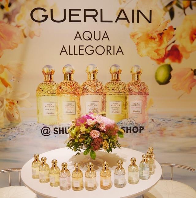 画像: 夏の香りが登場!ゲランのフレグランス「アクアアレゴリア」新製品発表会