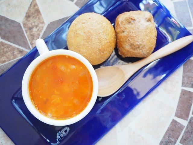 画像: パンとスープでキレイになる生活・1日目☆