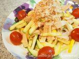 画像: 簡単!夏でもさっぱり・ズッキーニのサラダ☆