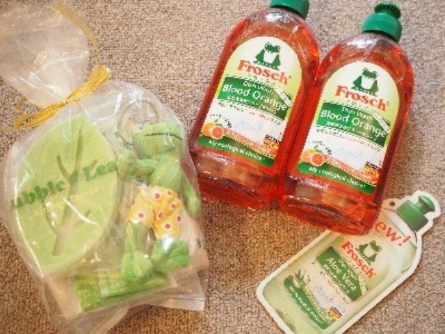 画像: お友達にもプレゼント♪ フロッシュ食器用洗剤・ブラッドオレンジ☆