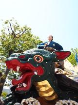 画像: ユネスコ無形遺産に登録されている「唐津くんち」の曳山☆