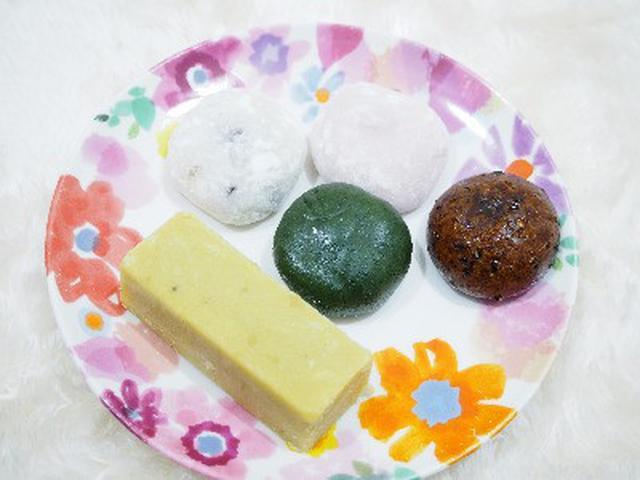 画像: 駅チカ駅ナカのショップでよく見かける谷中福丸饅頭☆