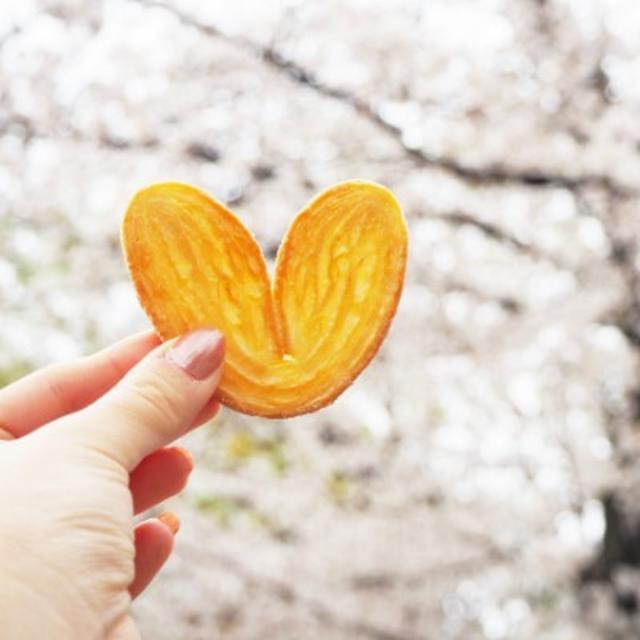 画像: 【プレゼントキャンペーン】かわいすぎるハート型の「源氏パイ」でおやつタイム☆