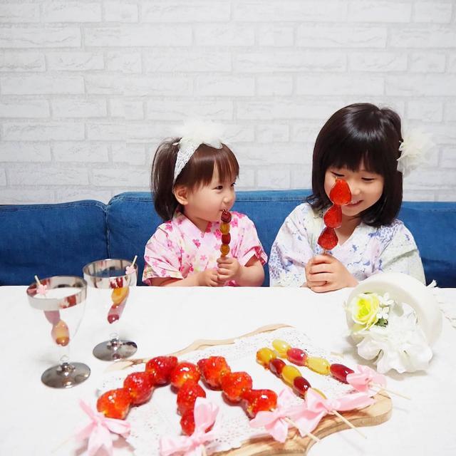 画像: 【簡単レシピ・手作りおやつ】おうちでフルーツ飴(いちご飴)づくりを楽しもう☆