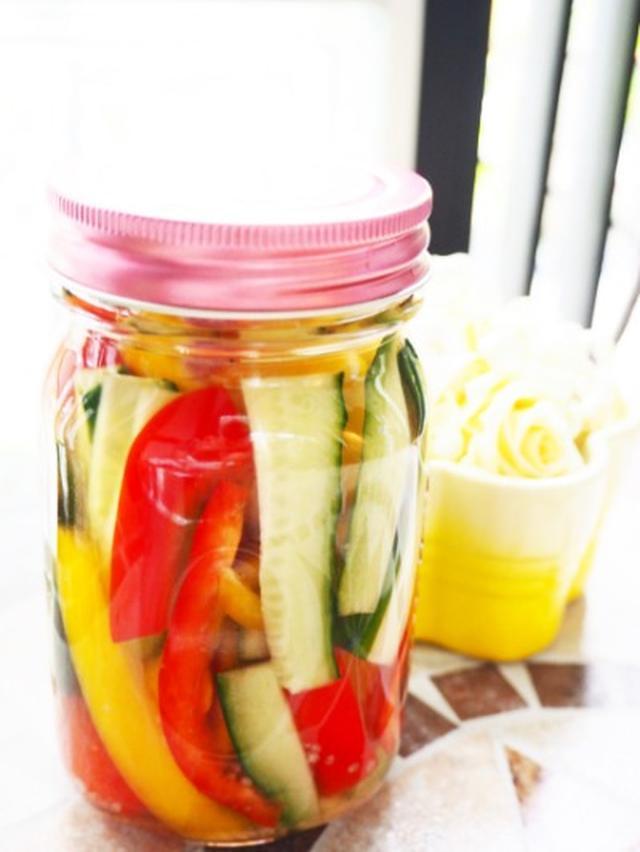 画像: 【おうちごはん・簡単レシピ】フレッシュな野菜をたっぷり使ったサラダでパワーチャージ☆