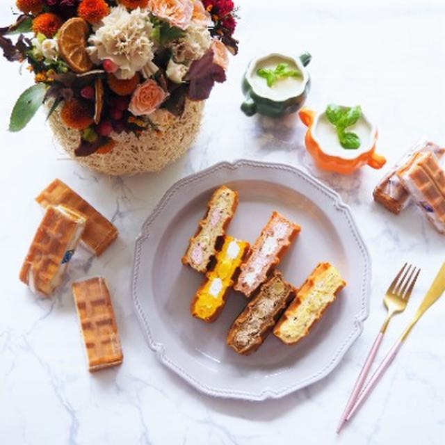 画像: 【お取り寄せスイーツ ワッフル・ケーキの店R.L・季節のワッフルケーキ☆】