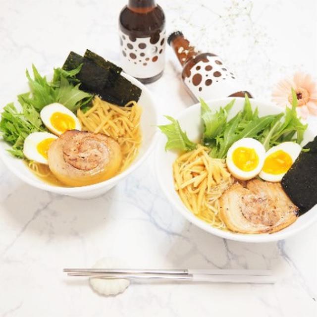 画像: 【おうちごはん・お取り寄せグルメ】ROCOCOビールとAFURIの柚子塩らーめんで簡単ランチ☆