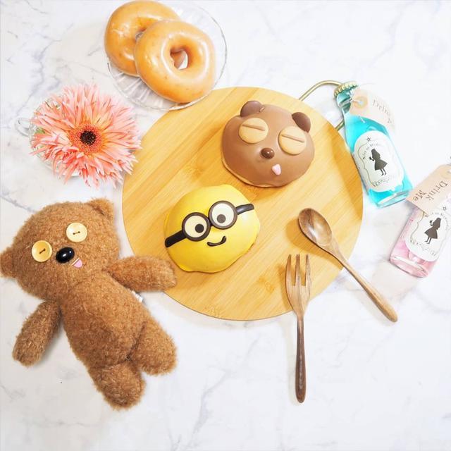 画像: 【おうちカフェ】『ミニオン』とクリスピー・クリーム・ドーナツのコラボをテイクアウト