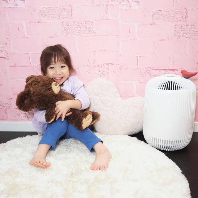 画像: 【おうち時間・インテリア】おしゃれなデザインの空気清浄機・clair K