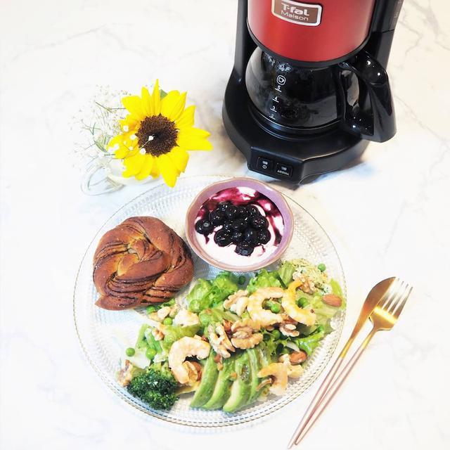 画像: 【おうちごはん・おうちカフェ】ナッツを取り入れたワンプレートごはん