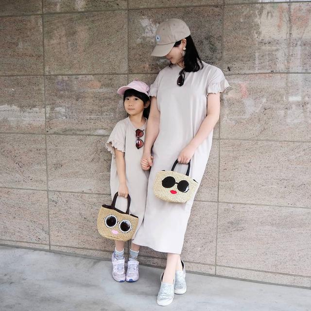 画像: 【リンクコーデ】お散歩にはlulpini(ルルピーニ)の親子リンクできるワンピースを