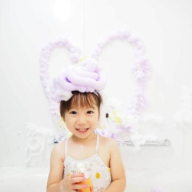 画像: 【おうち時間】水遊び・お風呂の時間が楽しくなる!もちもち泡のkefiiバブルクレンザー