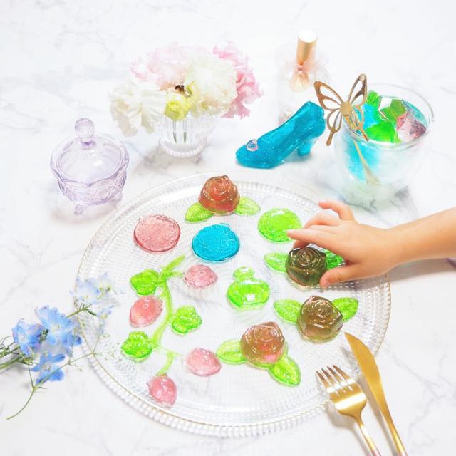 画像: 【クッキングトイ】リアルな昆虫やかわいすぎるガラスの靴や宝石が作れちゃう・グミップルラボ