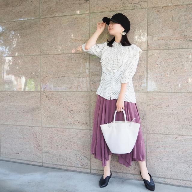 画像: 【プチプラコーデ・パシオス購入品】秋カラーを取り入れた全身1万円コーデ