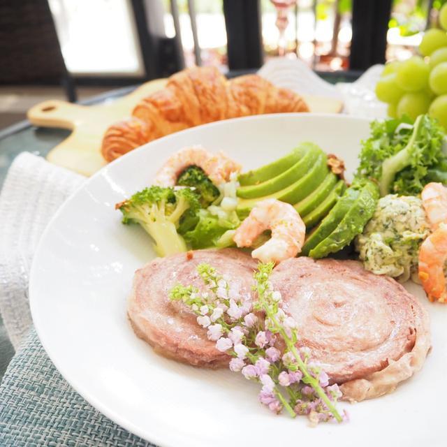 画像: 【お取り寄せグルメ・おうちカフェ】大山豚手造りロールステーキで簡単ごはん