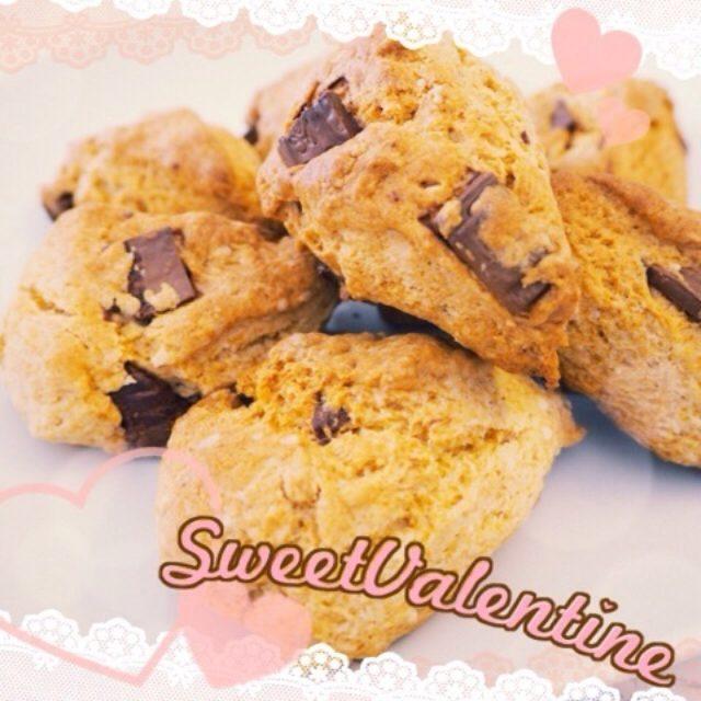 画像: Valentine's Day♡チョコスコーンでブランチ