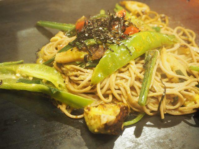 画像: ●アボカド黒焼きそば 京野菜ミックス
