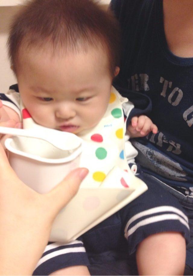 画像: 離乳食開始♡まさかの完全拒否
