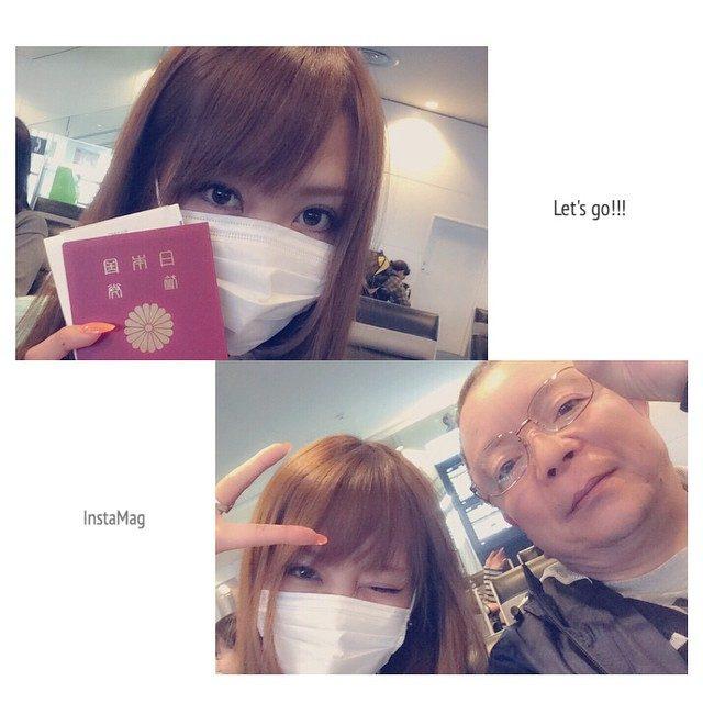 画像: いってきまーす☆#海外#旅行#出発#パパ#仲良し#行ってきます#l4l#f4f#instagood#instapic#羽田空港