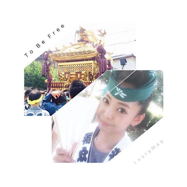 画像: 暑かったー(๑°ㅁ°๑)‼✧ そして自分の會の半纏久々に着た!笑 #祭#神輿#木更津#八剱八幡神社#千貫神輿#関東三大神輿#年中#お祭り女#真夏#暑すぎ#楽しかった#japan#instapic#instagood#l4l#f4f instagram.com
