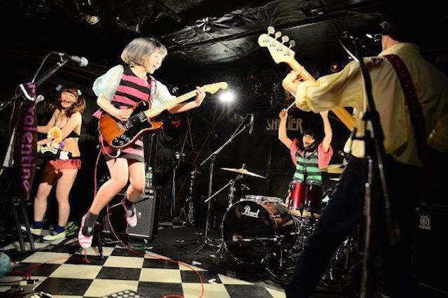画像1: ぽわん (2015.2.20@下北沢SHELTER) photo:井上尚子