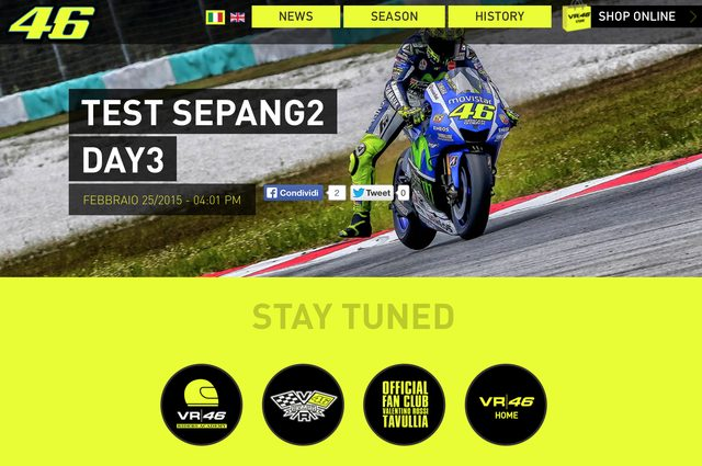 画像: 最先端のデザインが施されたサイト 公式サイト