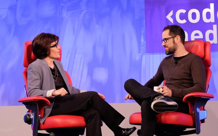 画像: Ev Williams, Founder and CEO of Medium.com techcrunch.com