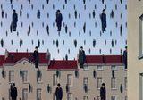 画像: Golconda, 1953 by Rene Magritte www.renemagritte.org