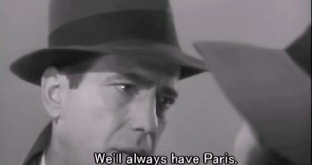 画像: 英語ではシンプル。We'll always have Paris. ja.wikipedia.org