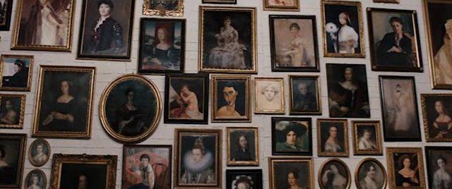 画像: 不正で集めた名画の女性たち。