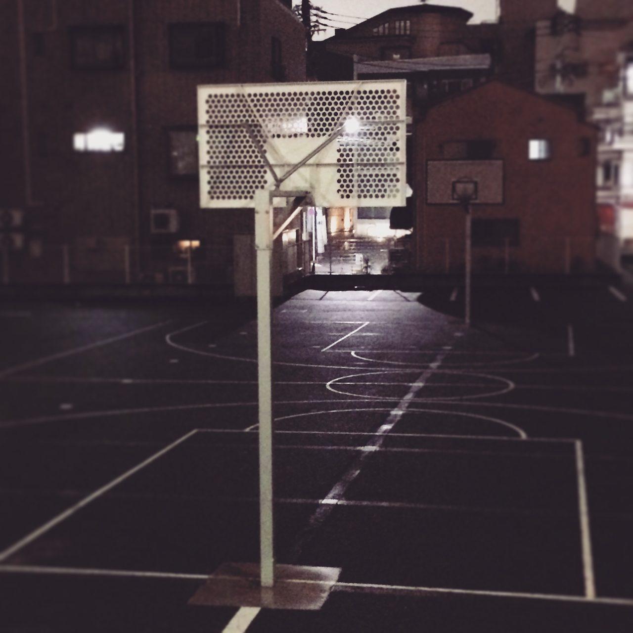 画像: 西麻布のバスケットコート