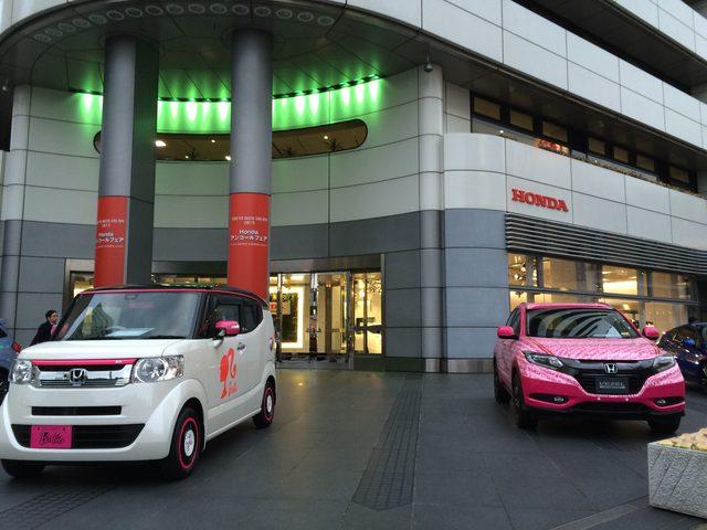 画像: Barbieカーとサマンサタバサカー