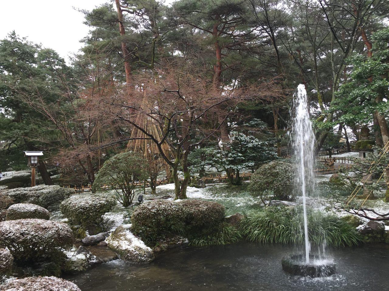 画像: 日本の美(兼六園)