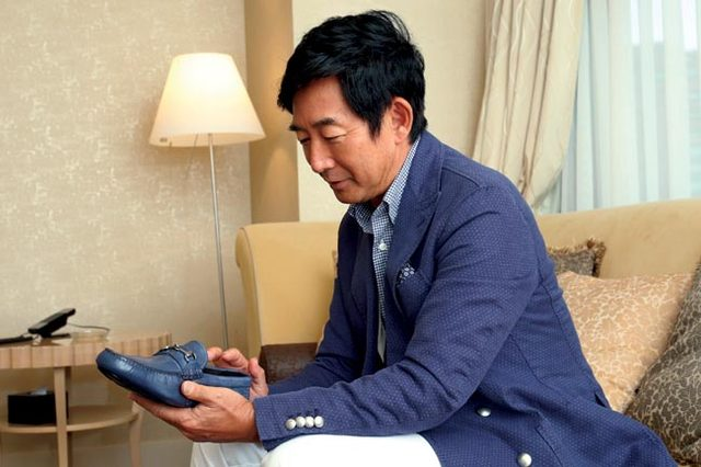 画像: 靴にまつわるマイストーリー 石田純一