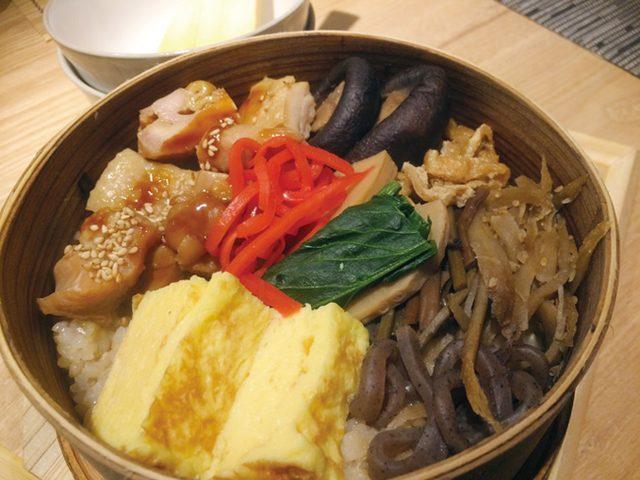 画像: 玄米わっぱめし1380円 http://www.tokyoheadline.com/vol638/tokyolife.16686.php