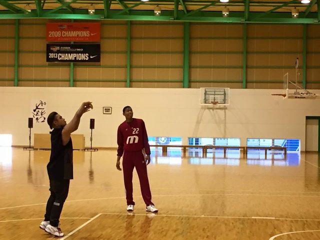 画像2: 三代目J.S.B.のELLYがバスケット界のスーパー高校生とアクション宣言
