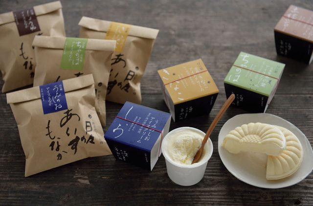 画像: 松崎冷菓『うみのしおアイスもなか』シリーズ