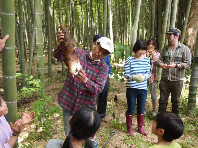 画像: たけのこ掘れたぞ! おいしいぞ!Farming Garden in 生命の森リゾート イベントリポート2015.4.26